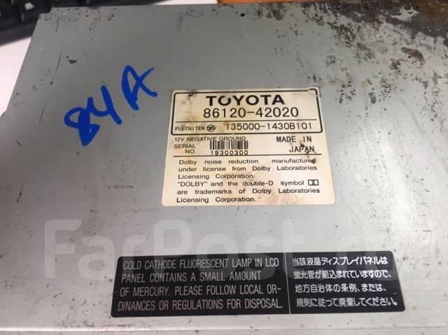 Дисплей. Toyota RAV4, ZCA25, ZCA26, ACA20, ACA21 Двигатели: 1AZFSE, 1ZZFE
