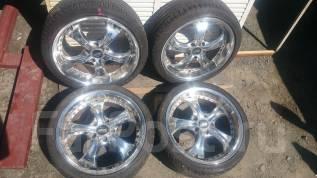 Комплект летних колес на литье R18 с резиной 215/40R18. 7.0x18 5x114.30