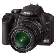 Canon EOS 1000D Kit. 20 и более Мп, зум: 14х и более