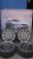 Комплект летних колес на литье SpeedStar R20 Japan c резиной 245/35R20. 8.5x20 5x114.30