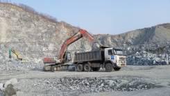 Вывоз строительного мусора Самосвалы 15 м3 25 тонн.