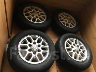 Комплект штат литья Nissan Elgrand+лето Bridgestone Sneaker. 6.0x15 6x139.70 ET35 ЦО 100,0мм.