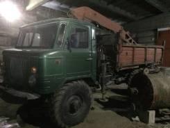 ГАЗ 66. Продам самосвал с крановой установкой, 4 250 куб. см., 3 000 кг.