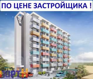 1-комнатная, улица Борисенко 40. Борисенко, проверенное агентство, 37 кв.м. Дизайн-проект