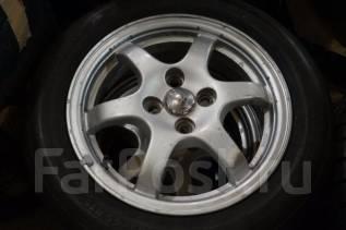 165/65R15 Летние шины с литыми дисками Toyota. Без пробега по РФ. 5.0x15 4x100.00 ET45