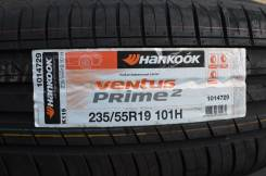 Hankook Ventus Prime 2 K115. Летние, 2013 год, без износа, 4 шт