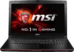 "MSI GP. 17.3"", 2 600,0ГГц, ОЗУ 8192 МБ и больше, диск 1 000 Гб, WiFi, Bluetooth, аккумулятор на 8 ч."