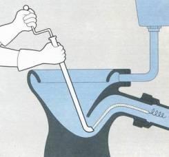 Прочистка канализации.