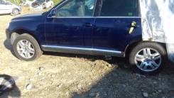 Комплект оригинальных литых дисков VW Touareg. x18, 5x130.00, ЦО 71,6мм.