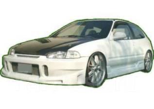 Обвес кузова аэродинамический. Honda Civic, EG6 Двигатель B16A