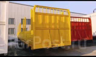Cimc. Полуприцеп бортовой «CIMC» 40 тонн, фитинги+конники+баки., 50 000 кг.