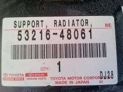 Планка радиатора. Toyota Highlander, GVU48, GSU40, ASU40, MHU48, GSU45, GSU40L