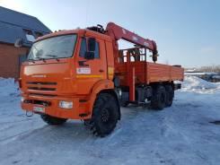 Камаз 43118 Сайгак. Продается бортовой грузовик Камаз 43118 с манипулятор Fassi, 11 725 куб. см., 10 000 кг.