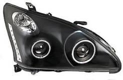 Фара Toyota Harrier /Lexus RX330 03-08 черн. линзы диодные тюнинг комп. Lexus RX330 Toyota Harrier