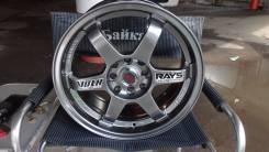 RAYS. 7.0x16, 4x100.00, 4x114.30, ET38, ЦО 73,1мм.