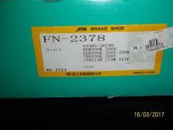 Колодка тормозная. Toyota Hiace, TRH221, TRH203, TRH213, TRH201, TRH223, LH202, KDH203, KDH223, KDH202, KDH201, KDH212, KDH221, LH212, KDH200, LH200...