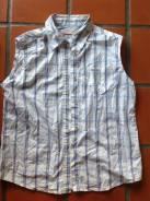 Рубашки джинсовые. 40-44, 46