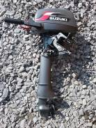 Suzuki. 5,00л.с., 2х тактный, бензин, нога L (508 мм), Год: 2010 год