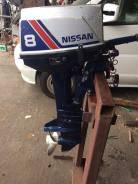 Nissan Marine. 8,00л.с., 2х тактный, бензин, нога S (381 мм), Год: 1994 год