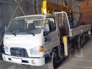 Hyundai. Продаётся грузовик с манипулятором E-Mighty, 3 907 куб. см., 4 000 кг.