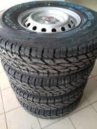 Шины Bridgestone R16 в сборе с дисками на Mitsubishi L200. Новые. 6.0x16 6x139.70 ET46 ЦО 67,1мм.