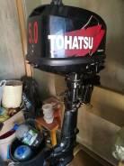 Tohatsu. 5,00л.с., 2х тактный, бензин, нога S (381 мм), Год: 2013 год