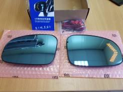 Полотна зеркал Toyota Prius 30, Mark X 130, Wish 20(Подогрев, поворотник). Toyota: Prius a, Ractis, iQ, Wish, Mark X, Venza, Prius, Camry