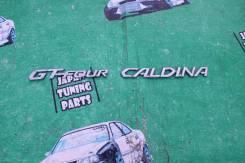 Эмблема. Toyota Caldina