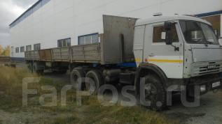 Камаз 5410. Продам тягач с прицепом-длиномер Камаз, 210 куб. см., 20 000 кг. Под заказ