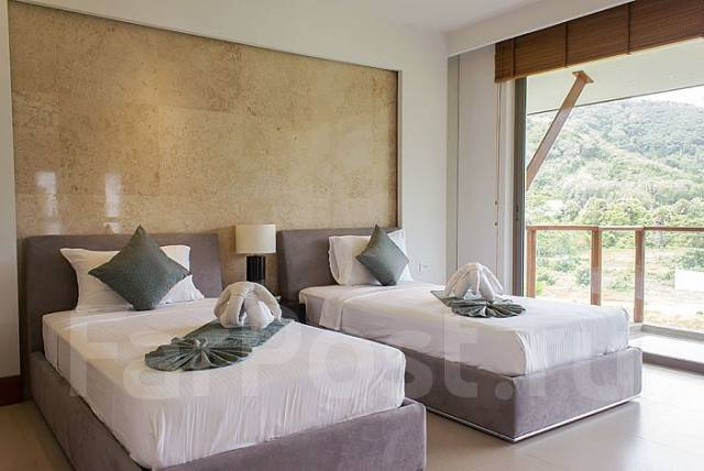 Пентхаус с 3/4 спальнями в комплексе Pearl of Nai Thon у пляжа