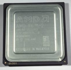Процессор AMD AMD-K6-2/500AFX 500MHz/32KB/100MHz Socket 7 2.2V