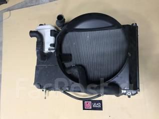 Радиатор охлаждения двигателя. Toyota Verossa, GX110