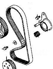 Ремкомплект системы газораспределения. Mitsubishi: Minica Toppo, Pajero, Toppo BJ Wide, Chariot, Town Box Wide, Town Box, eK-Wagon, Pajero Mini, Bravo...