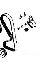 Ремкомплект системы газораспределения. Mitsubishi: Pajero Junior, Delica, Minicab, eK-Wagon, Toppo BJ Wide, Pajero Mini, Town Box, Minica Toppo, Pajer...