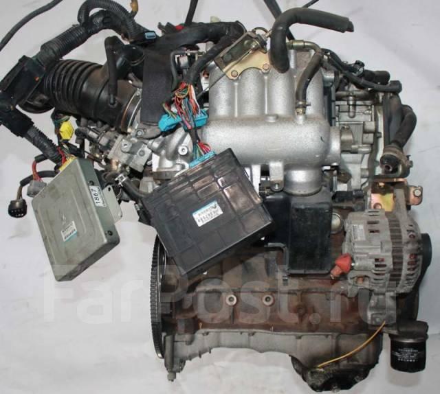 Двигатель в сборе. Mitsubishi: Carisma, RVR, Aspire, Legnum, Galant
