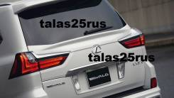 Спойлер на заднее стекло. Lexus LX570, URJ201, URJ201W