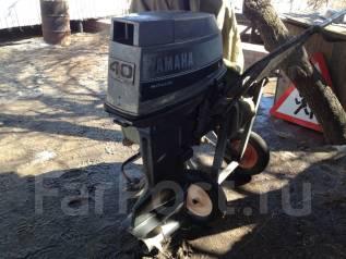 Yamaha. 40,00л.с., 2х тактный, бензин, нога L (508 мм), Год: 1995 год