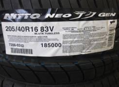 Nitto Neo Gen. Летние, 2016 год, без износа, 1 шт