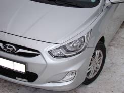 Накладка на фару. Hyundai Solaris, RB