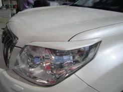 Накладка на фару. Toyota Land Cruiser Prado, TRJ150, TRJ12, TRJ150W