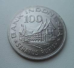 Индонезия, 100 рупий 1978 - без оборота