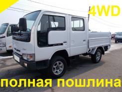 Nissan Atlas. 4WD, двухкабинник+борт, 3 200 куб. см., 1 500 кг.