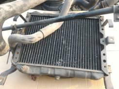 Радиатор охлаждения двигателя. Nissan Homy, ARMGE24, ARME24, KRME24 Nissan Caravan, KRME24, ARMGE24, ARME24 Двигатели: TD27T, TD27TI