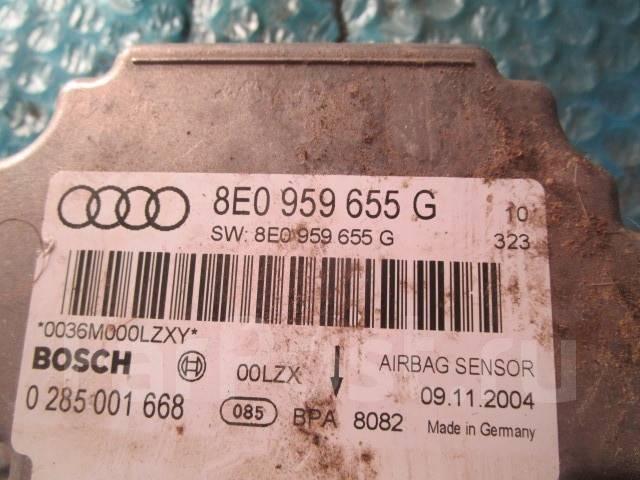 Блок управления AIR BAG Audi A4 [B7] 2004-2008. Audi A4, 8EC, 8ED Audi S4, 8EC, 8ED Audi RS4 Двигатели: ALT, ALZ, ASB, AUK, AWA, BBJ, BBK, BCZ, BDG, B...