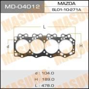 Прокладка головки блока цилиндров. Mazda Parkway, WVL4B Mazda AZ-Wagon, MD12S, MD11S, MD22S, MD21S Mazda Titan, WG61K, WGT4H, WGFAK, WGL4T, WGT4T, WGT...