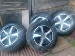 Bridgestone Dueler A/T D694. Летние, 2010 год, износ: 30%, 4 шт