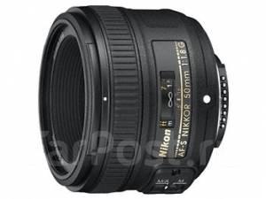 Продам объектив Nikon 50mm f/1.8G AF-S. Для Nikon, диаметр фильтра 58 мм