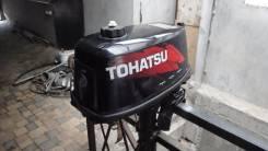 Tohatsu. 5,00л.с., 2х тактный, бензин