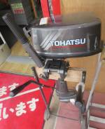 Tohatsu. 5,00л.с., 2х тактный, бензин, нога L (508 мм), Год: 2003 год