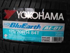 Yokohama BluEarth AE-01. Летние, 2016 год, без износа, 1 шт